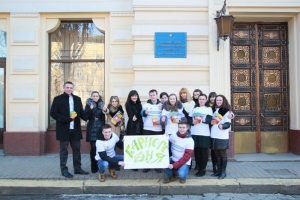 Студенти БДМУ провели акцію до Дня прояву доброти