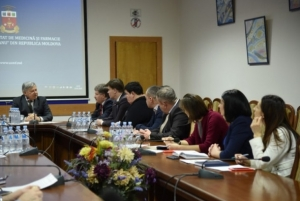 Делегація БДМУ відвідала Університету медицини та фармації ім. Н.Тестеміцану