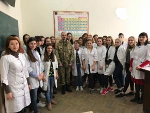 В БДМУ відзначили День українського добровольця