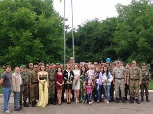 Студенти-медики провели для військових концерт