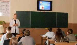 Студенти БДМУ розповіли школярам про важливість імунопрофілактики