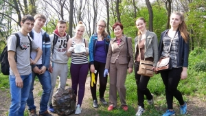 Студенти і викладачі провели акцію до Дня довкілля