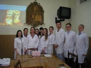 На кафедрі нервових хвороб провели круглий стіл про наслідки Чорнобиля