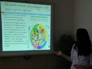 На кафедрі гігієни та екології обговорили сучасні концепції превентивного харчування
