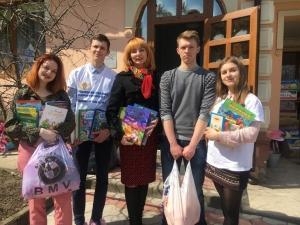 В БДМУ проведено щорічну благодійну акцію «Подаруй дитині книгу»