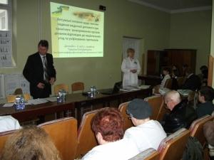 Конференція на кафедрі фтизіатрії та пульмонології