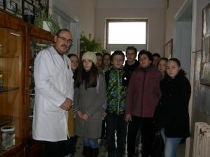 У музеї макропрепаратів БДМУ провели лекцію школярам