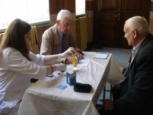 На кафедрі клінічної імунології провели акцію до Дня медика