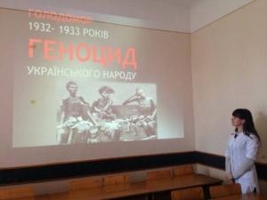 На кафедрі психології провели семінар до Дня пам'яті жертв голодомору