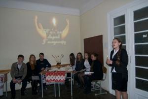 У БДМУ влаштували вечір-реквієм до Дня пам'яті жертв Голодомору