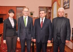 Відбулася зустріч із Заступником Посла Австрії