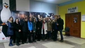 """Студенти БДМУ переглянули українську стрічку """"Поводир"""""""