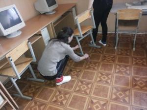 У БДМУ провели акцію з благоустрою навчального закладу