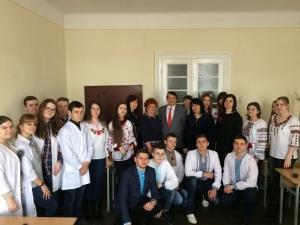 В БДМУ вшанували пам'ять Тараса Шевченка