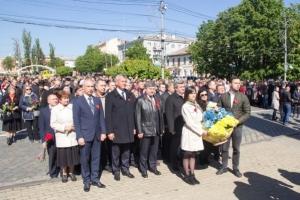 Співробітники БДМУ вшанували пам'ять загиблих у Другій світовій війні