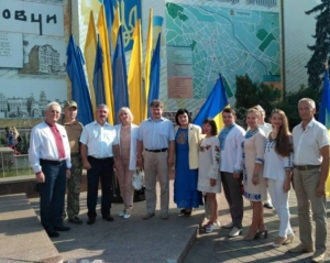 Співробітники БДМУ взяли участь в урочистостях з нагоди Дня Державного Прапора