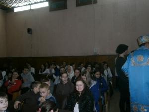 Студенти привітали діток з Днем святого Миколая