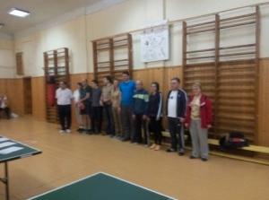 У БДМУ провели змагання з тенісу до Дня інвалідів