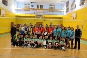 Відбулися змагання з волейболу серед жіночих команд