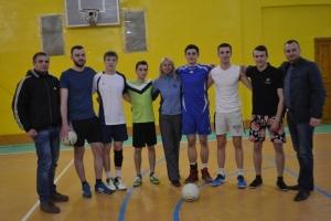 Відбулися фінальні змагання з волейболу