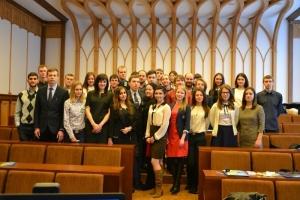 Студенти представили СНТ БДМУ на Всеукраїнському з'їзді