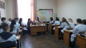 Студенти БДМУ зустрілися з письменницею Лесею Воронюк