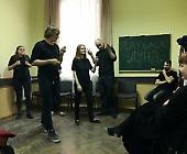 Playback театр «Луна» виступив для студентів БДМУ
