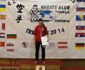 Срібна медаль студентки БДМУ