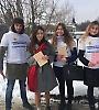 Студенти БДМУ долучилися до всесвітньої акції «Lots of socks»